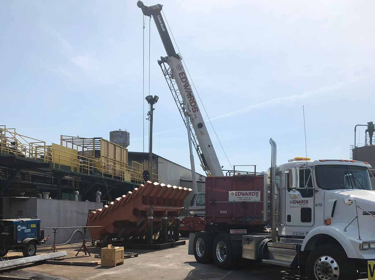Millwright Services | Coastal Group | Industrial Construction